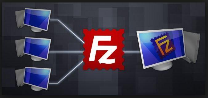 برنامج النقل filezilla للتعامل المباشر مع ملفاتك