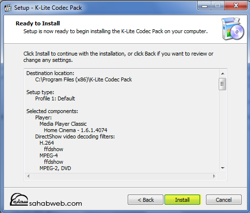 download_K-Lite_Codec_Pac11