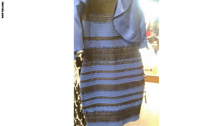 mystery color dress