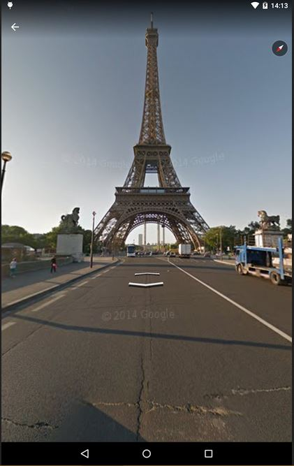 Google Earth maps android download
