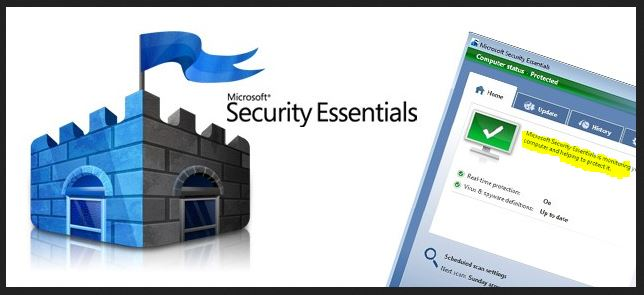 برنامج Security-Essentials من ميكروسوفت
