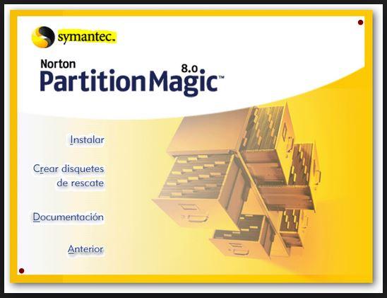 خطواط بسيطة لتقسيم الهارد ديسك فورا مع partition magic