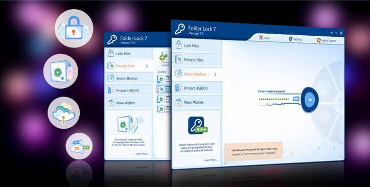 تحميل برنامج فولدر لوك لقفل الملفات والاقراص folder lock