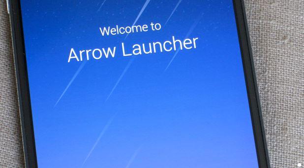 احدث اصدار من arrow launcher