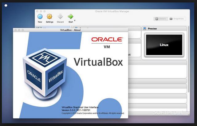 النسخة الخامسة من virtualbox لتثبيت الانظمة الوهمية