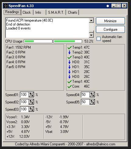 تنزيل برنامج سبيد فان لمعرفة حرارة المعالج speedfan