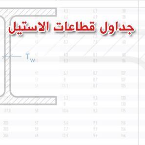 تحميل جداول قطاعات الاستيل pdf